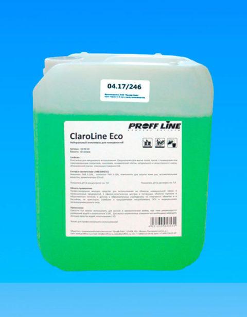 ClaroLine Eco - нейтральный очиститель для поверхностей