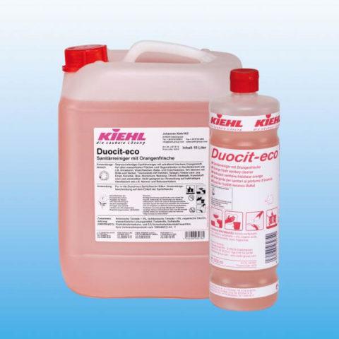 Duocit-eco - Чистящее средство для санитарных помещений со свежим апельсиновым запахом