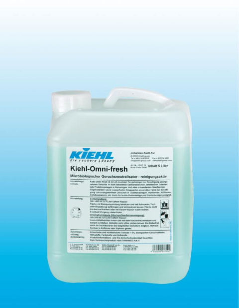 Kiehl-Omni-fresh - Активное чистящее средство и микробиологический нейтрализатор запахов