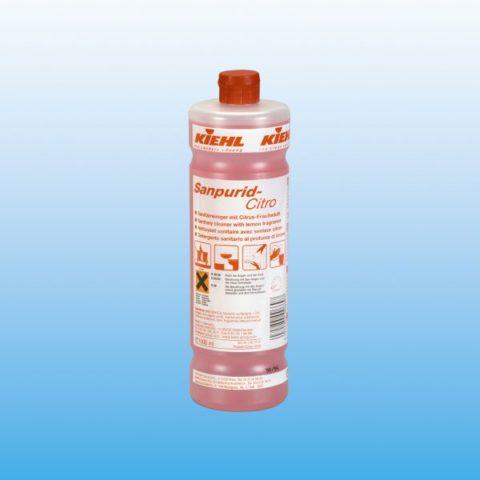 Sanpurid-Citro - Средство для чистки санитарных помещений со свежим лимонным запахом